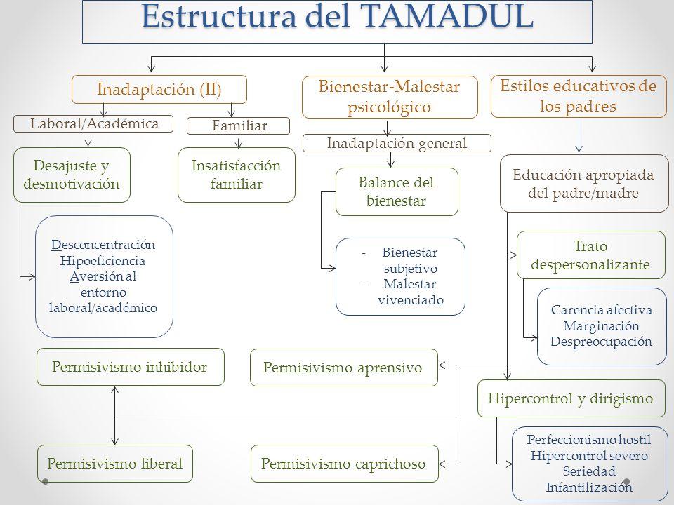 Estructura del TAMADUL