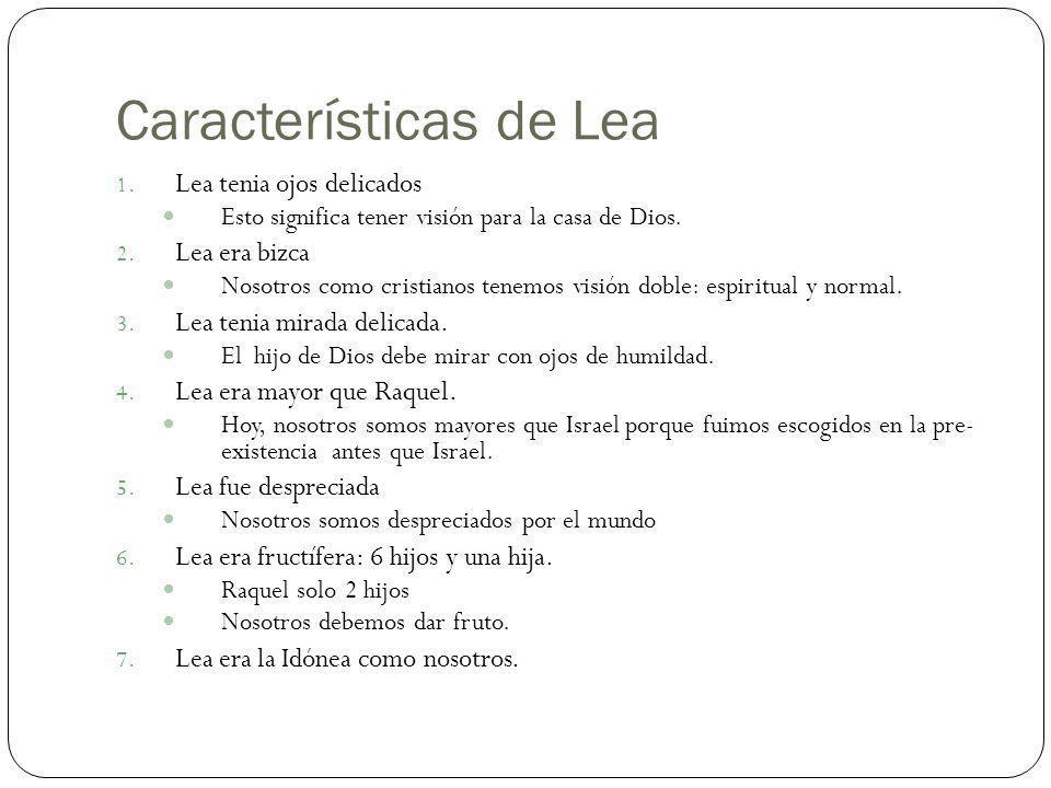 Características de Lea