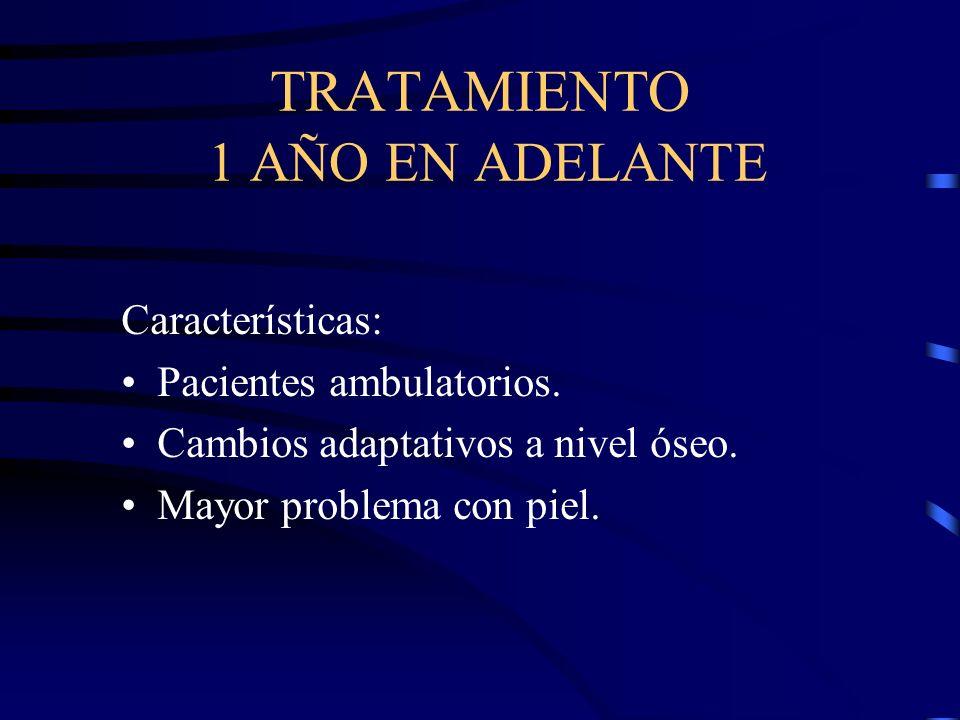 TRATAMIENTO 1 AÑO EN ADELANTE