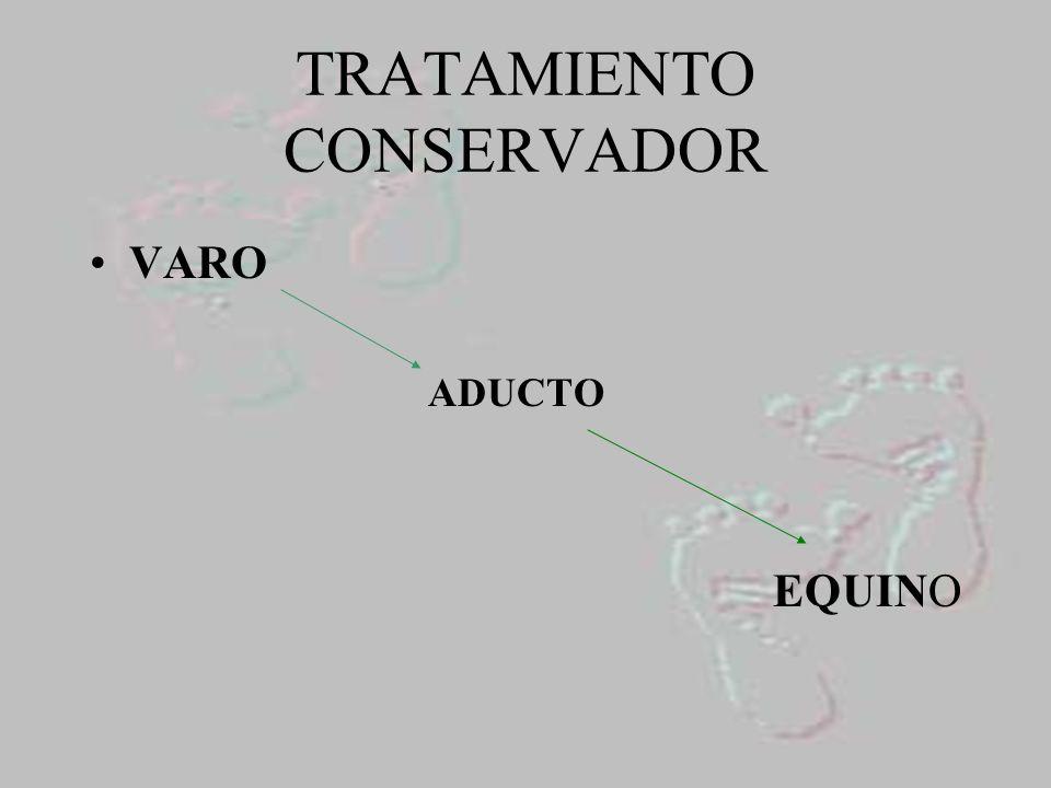 TRATAMIENTO CONSERVADOR