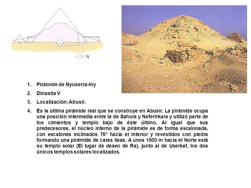 Pirámide de Nyuserra-Iny