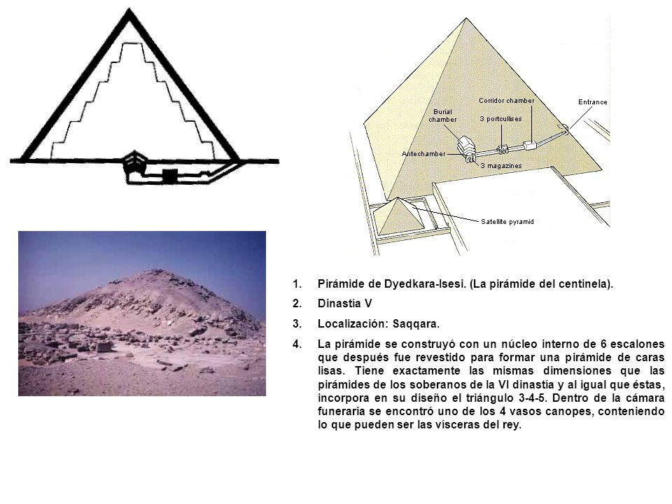 Pirámide de Dyedkara-Isesi. (La pirámide del centinela).