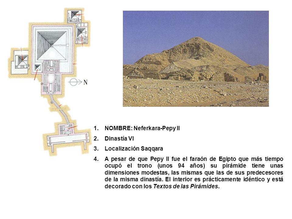 NOMBRE: Neferkara-Pepy II
