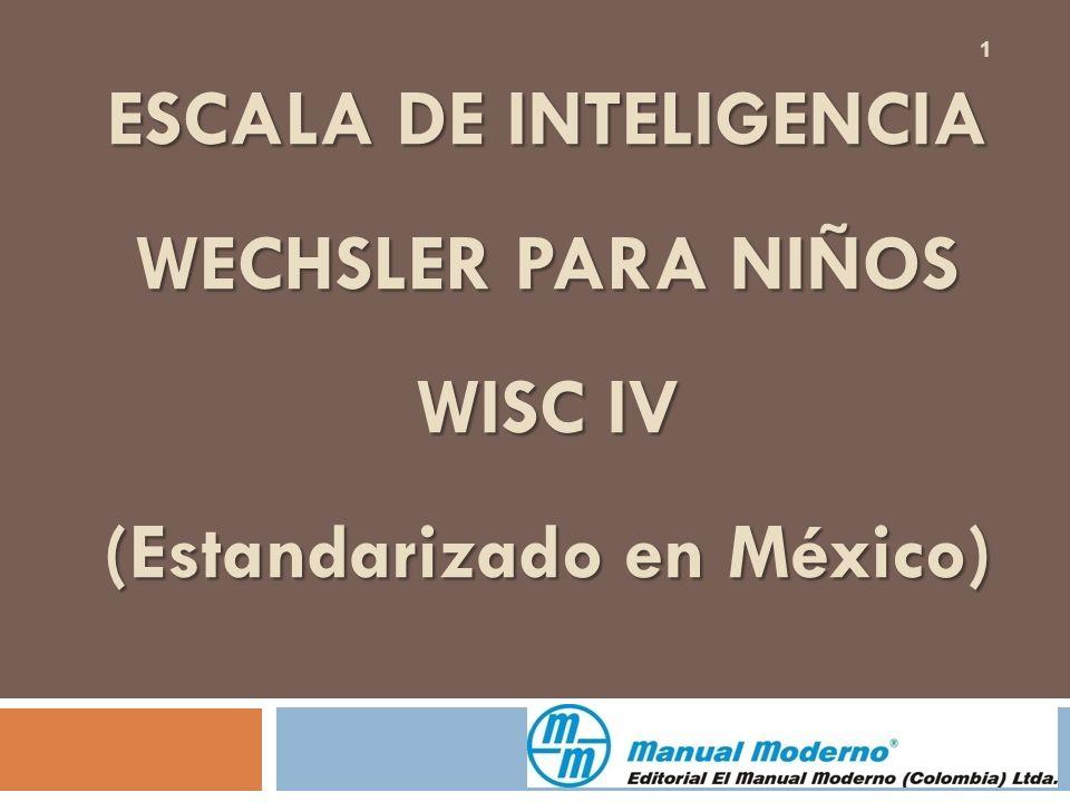 Escala de inteligencia adulta de Wechsler iv