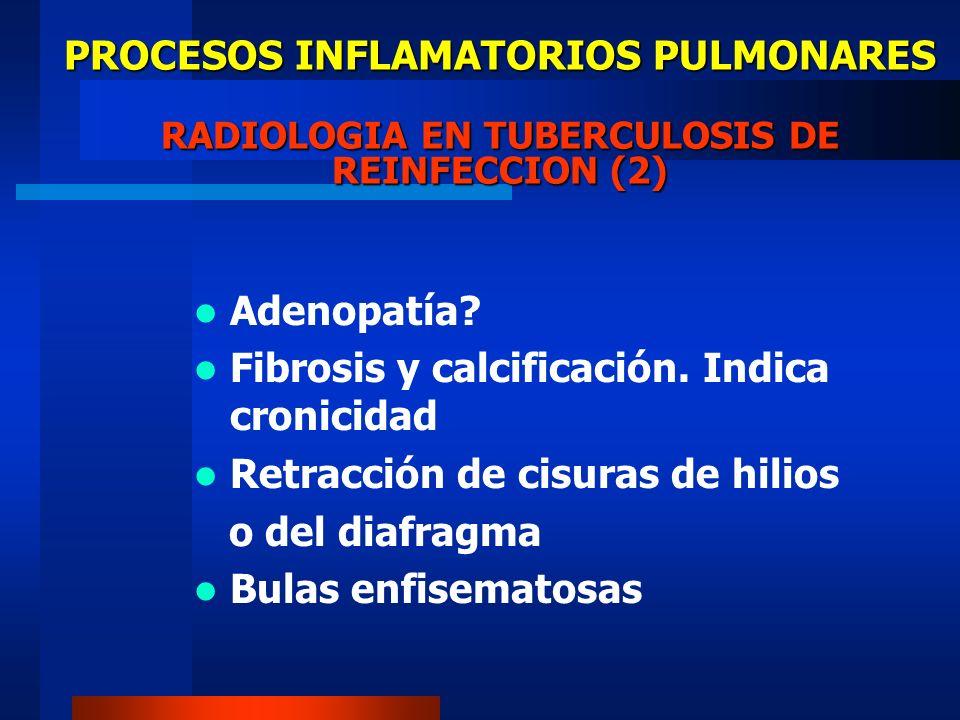 PROCESOS INFLAMATORIOS PULMONARES RADIOLOGIA EN TUBERCULOSIS DE REINFECCION (2)