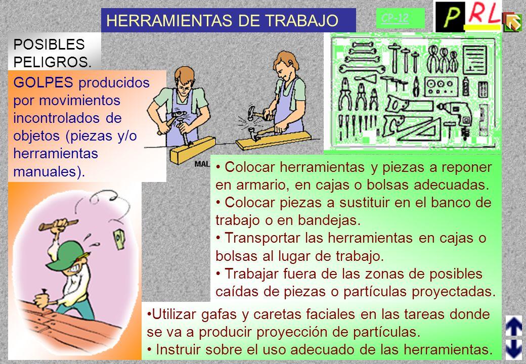 HERRAMIENTAS DE TRABAJO