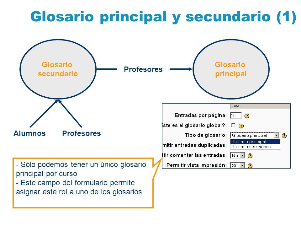 Glosario principal y secundario (1)