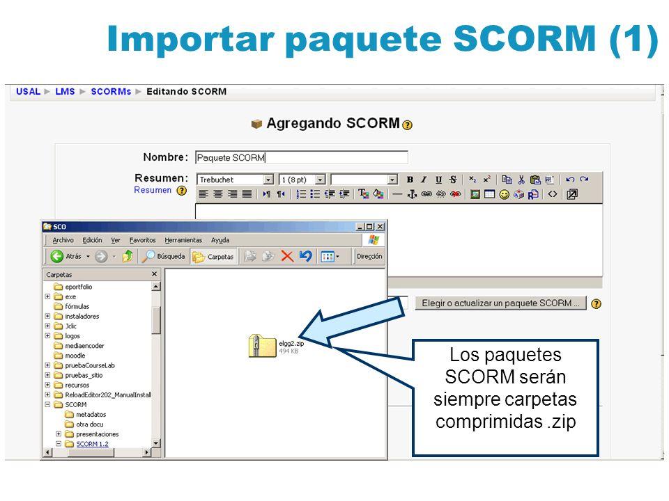 Importar paquete SCORM (1)