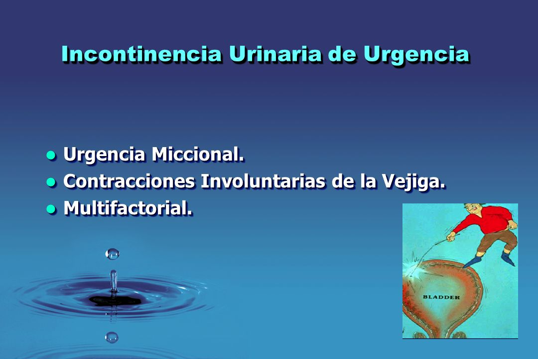 INCONTINENCIA URINARIA DR SERGIO DURAN ORTIZ - ppt video