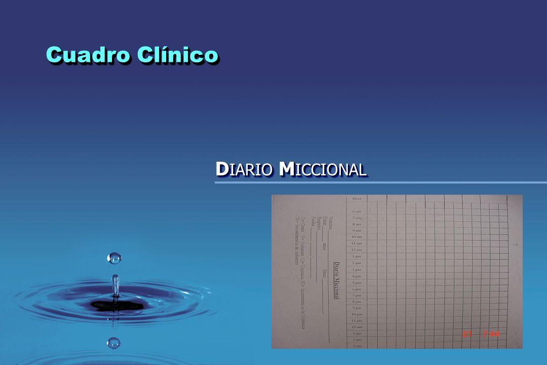 Cuadro Clínico DIARIO MICCIONAL