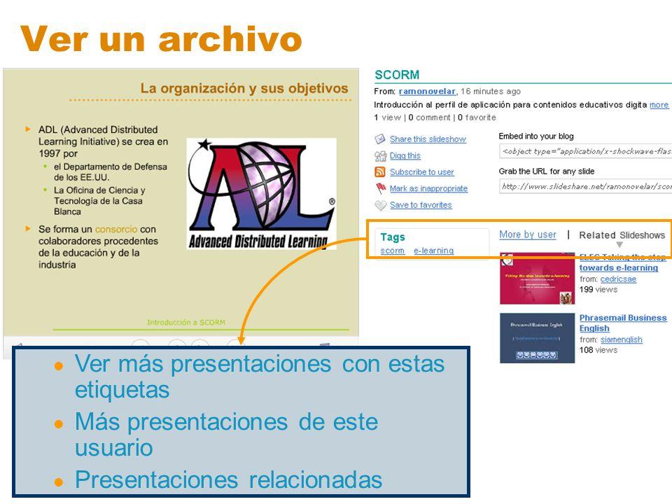 Ver un archivo Ver más presentaciones con estas etiquetas