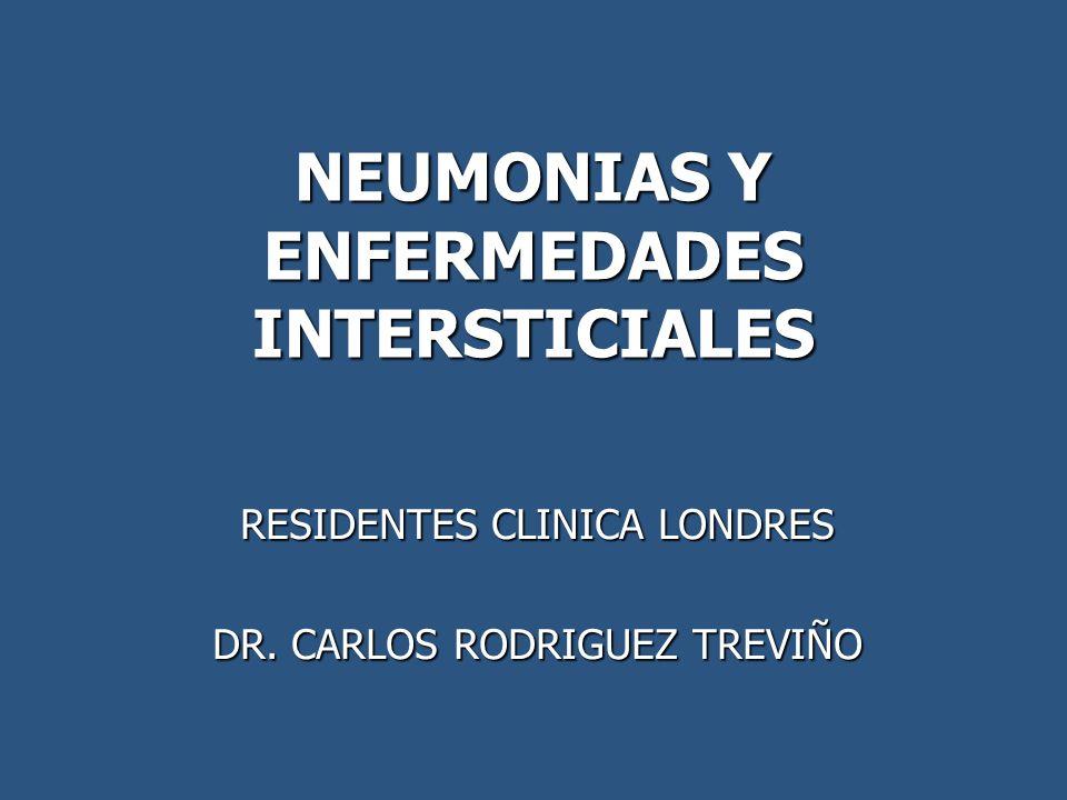 NEUMONIAS Y ENFERMEDADES INTERSTICIALES