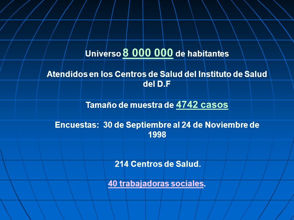 Universo 8 000 000 de habitantes