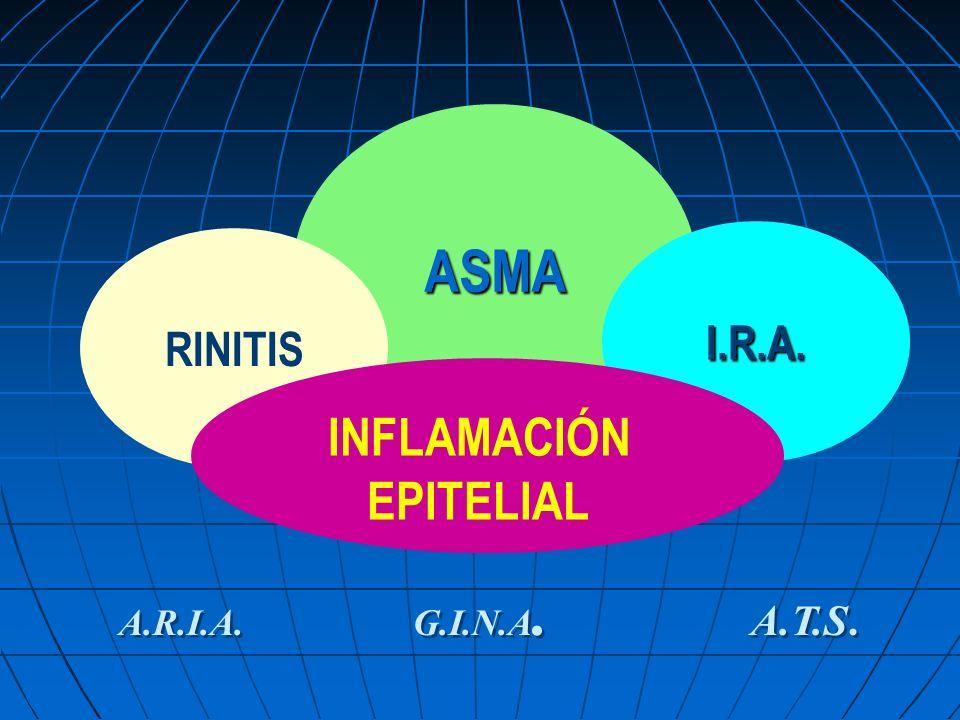 ASMA I.R.A. RINITIS. INFLAMACIÓN. EPITELIAL.