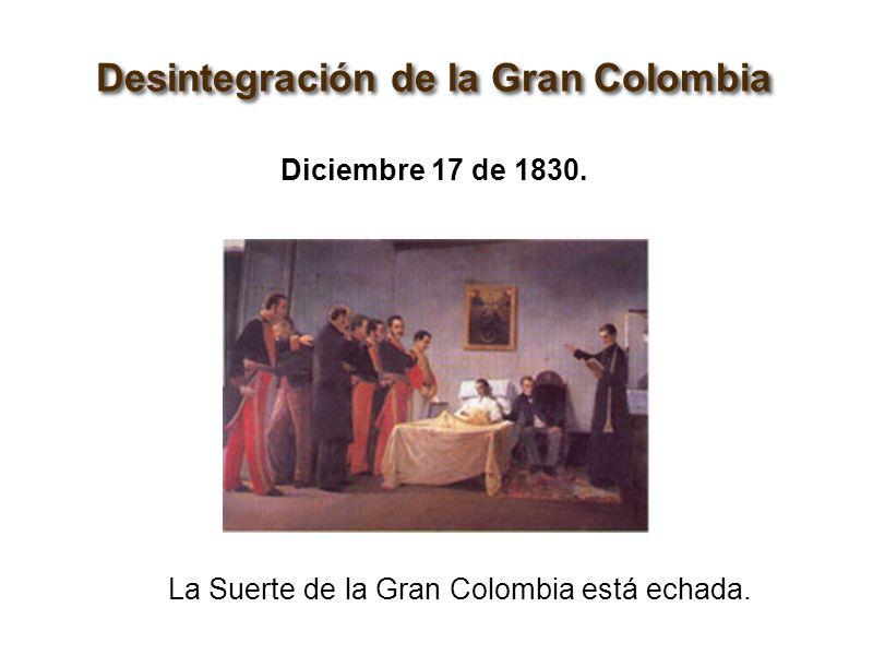 """LA """"Gran"""" Colombia Política Y Guerra."""