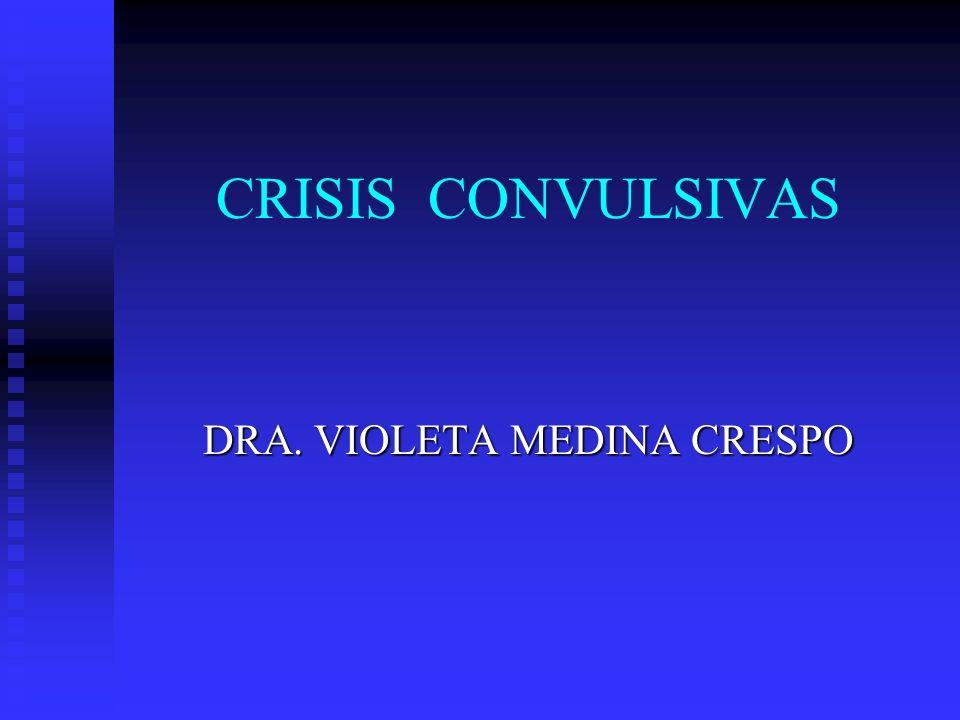 DRA. VIOLETA MEDINA CRESPO