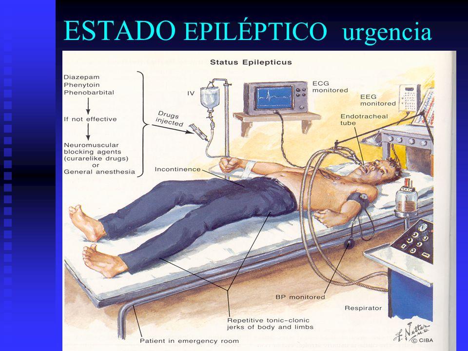 ESTADO EPILÉPTICO urgencia