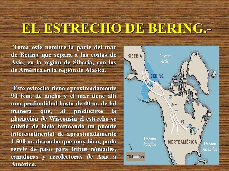 EL ESTRECHO DE BERING.-