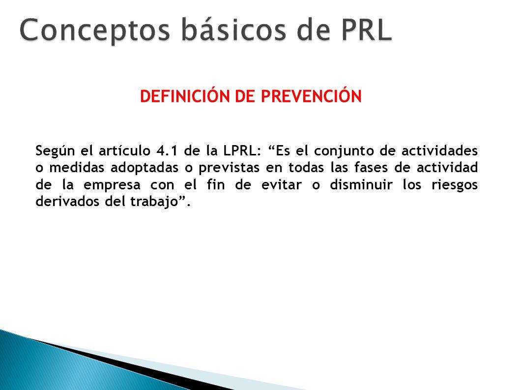 Conceptos básicos de PRL