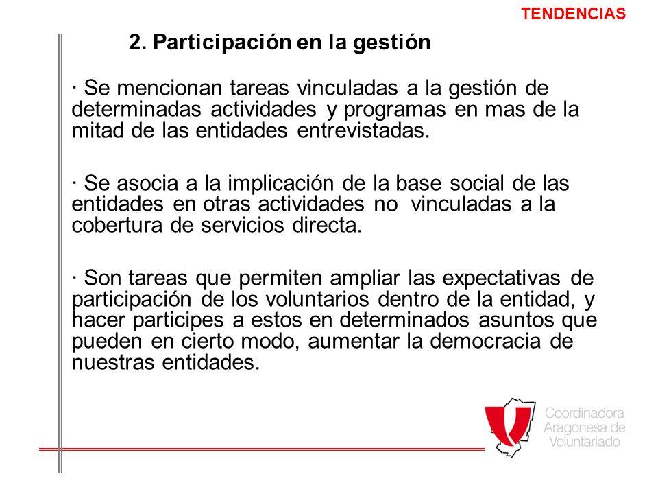 2. Participación en la gestión