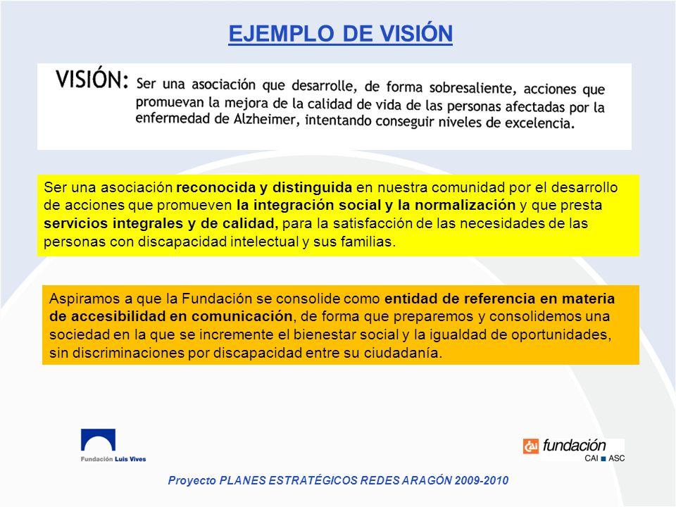 EJEMPLO DE VISIÓN