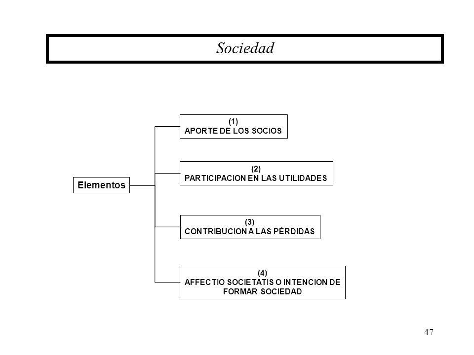 Sociedad Elementos (1) APORTE DE LOS SOCIOS (2)
