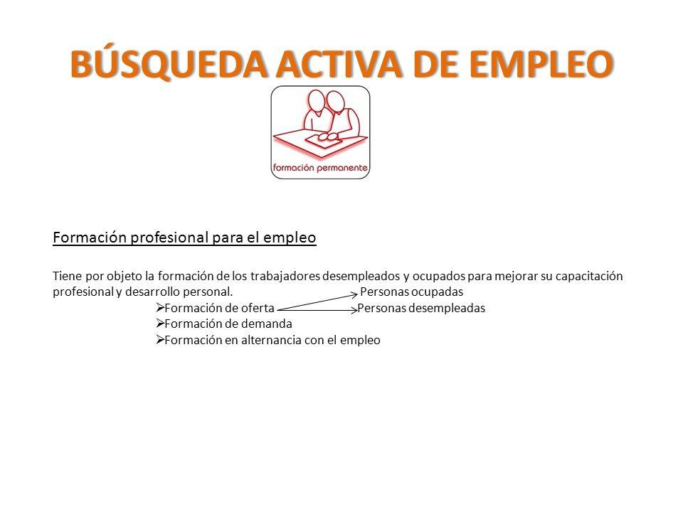 B squeda activa de empleo ppt video online descargar for Senar la demanda de empleo por internet