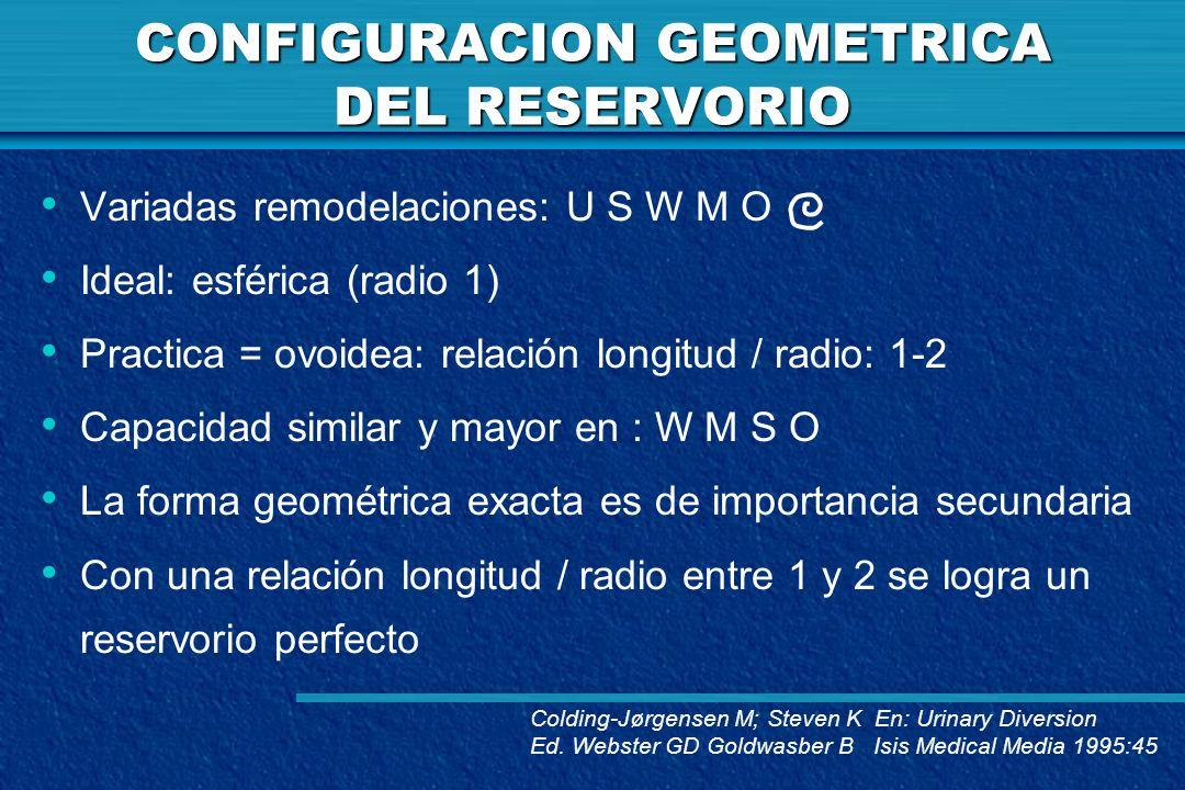 CONFIGURACION GEOMETRICA DEL RESERVORIO