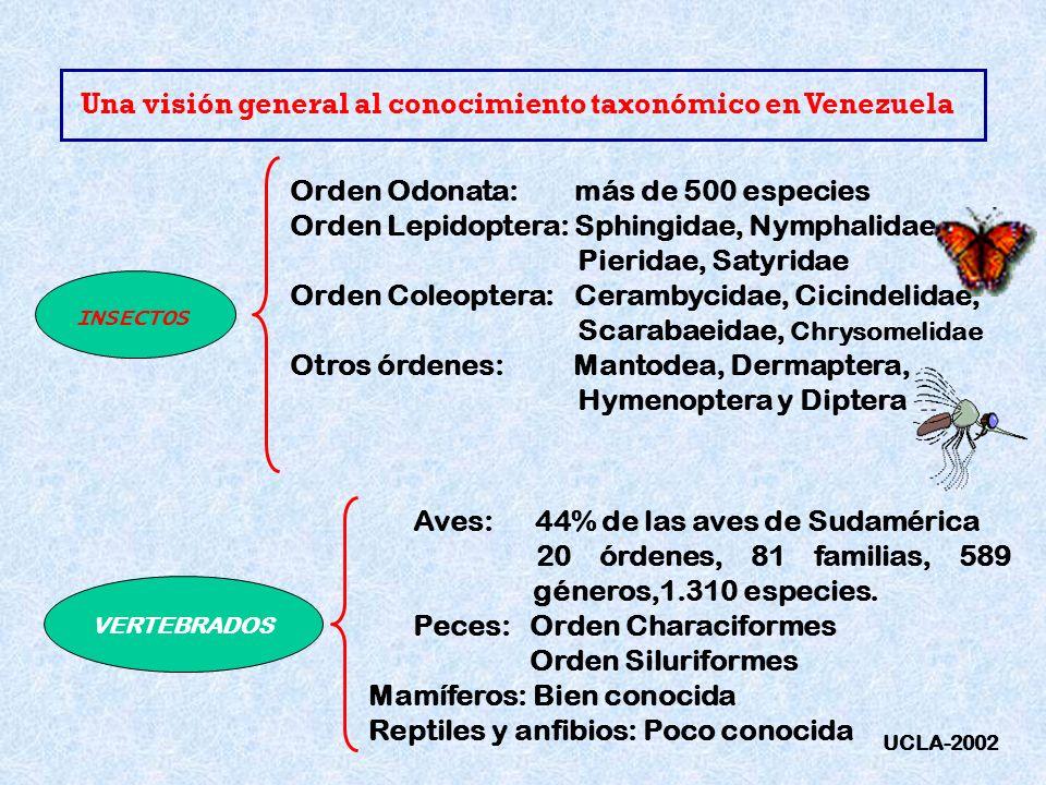 Una visión general al conocimiento taxonómico en Venezuela