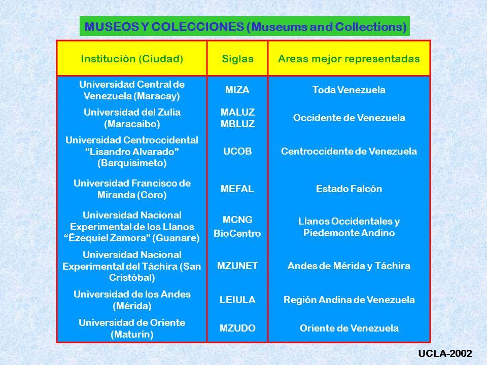 MUSEOS Y COLECCIONES (Museums and Collections)