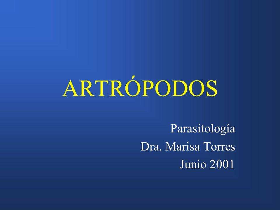 Parasitología Dra. Marisa Torres Junio 2001