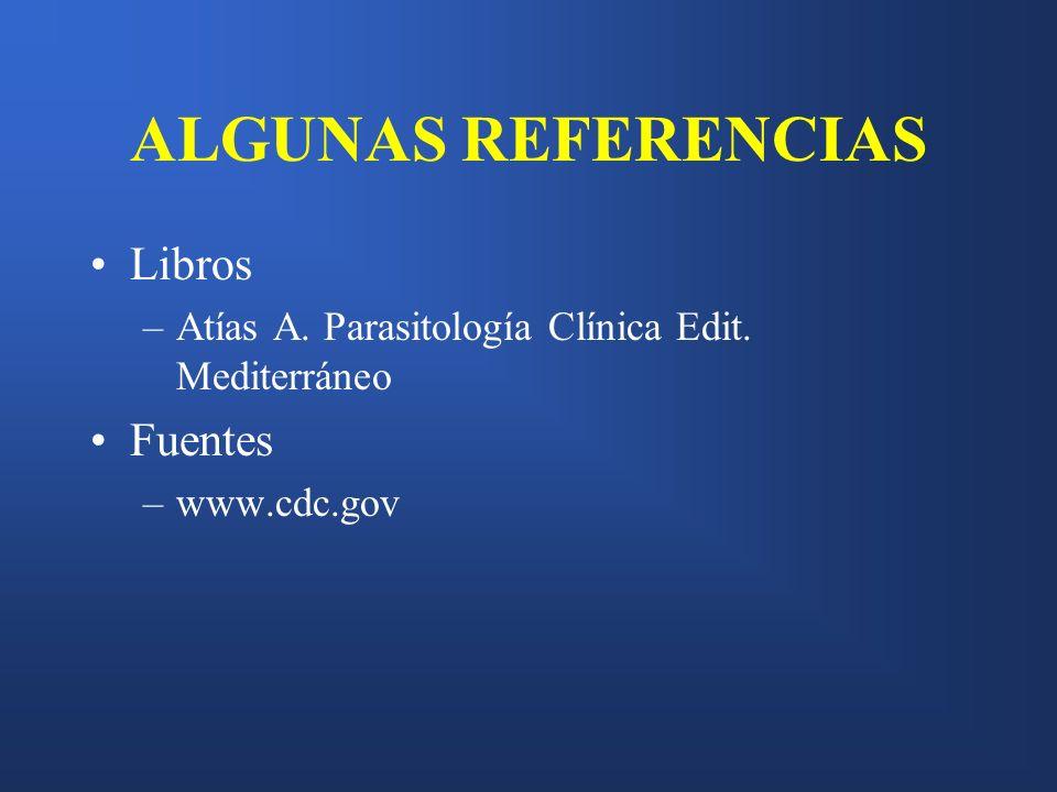 ALGUNAS REFERENCIAS Libros Fuentes