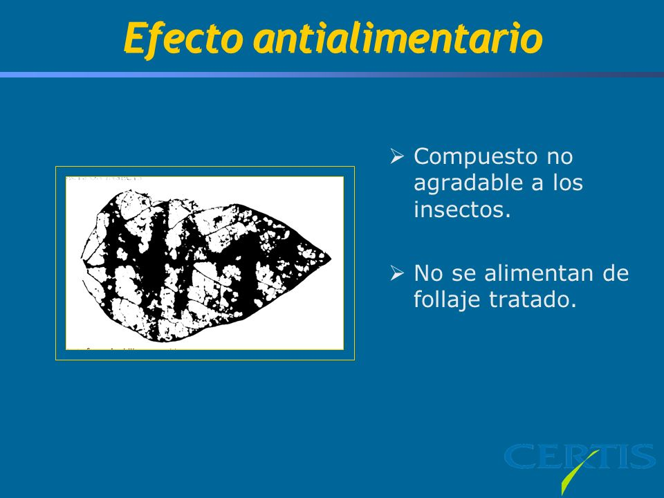 Efecto antialimentario