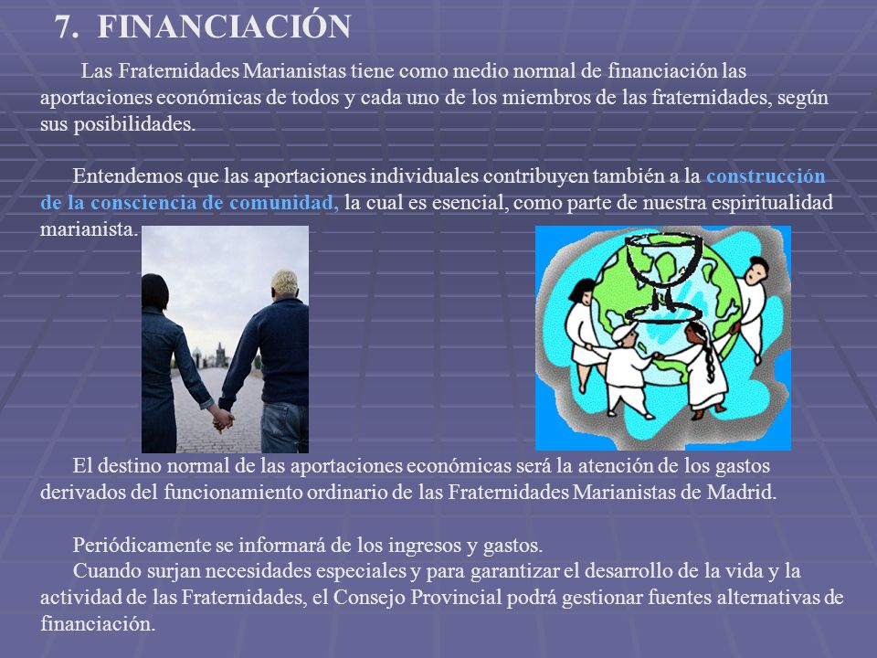 7. FINANCIACIÓN