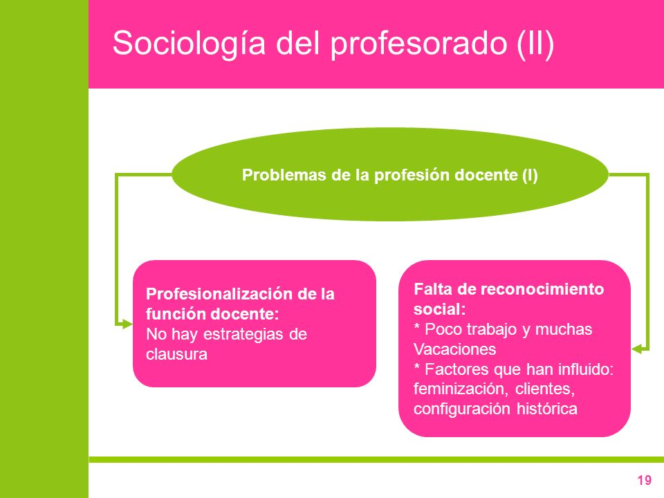 Sociología del profesorado (II)