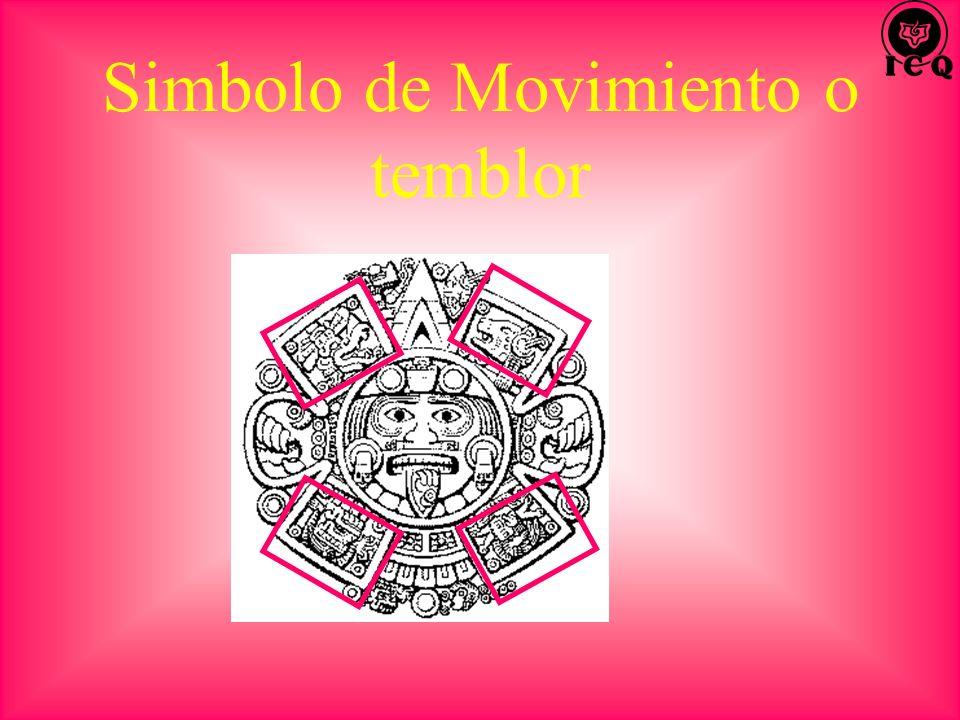 Simbolo de Movimiento o temblor