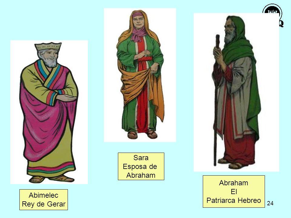 Sara Esposa de Abraham Abraham El Patriarca Hebreo Abimelec Rey de Gerar