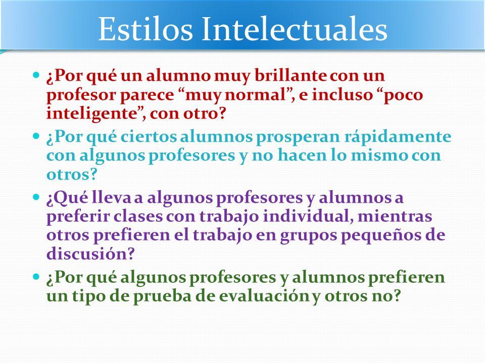 Estilos Intelectuales