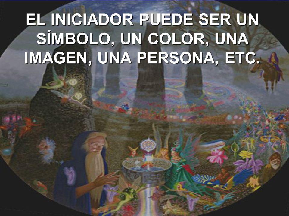 EL INICIADOR PUEDE SER UN SÍMBOLO, UN COLOR, UNA IMAGEN, UNA PERSONA, ETC.