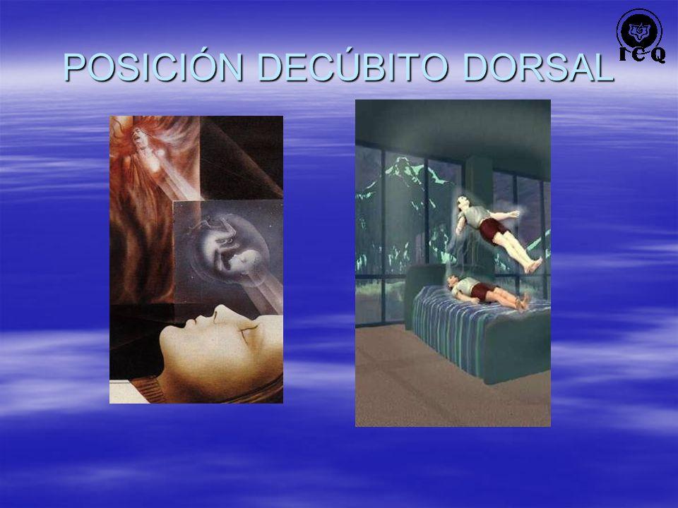 POSICIÓN DECÚBITO DORSAL