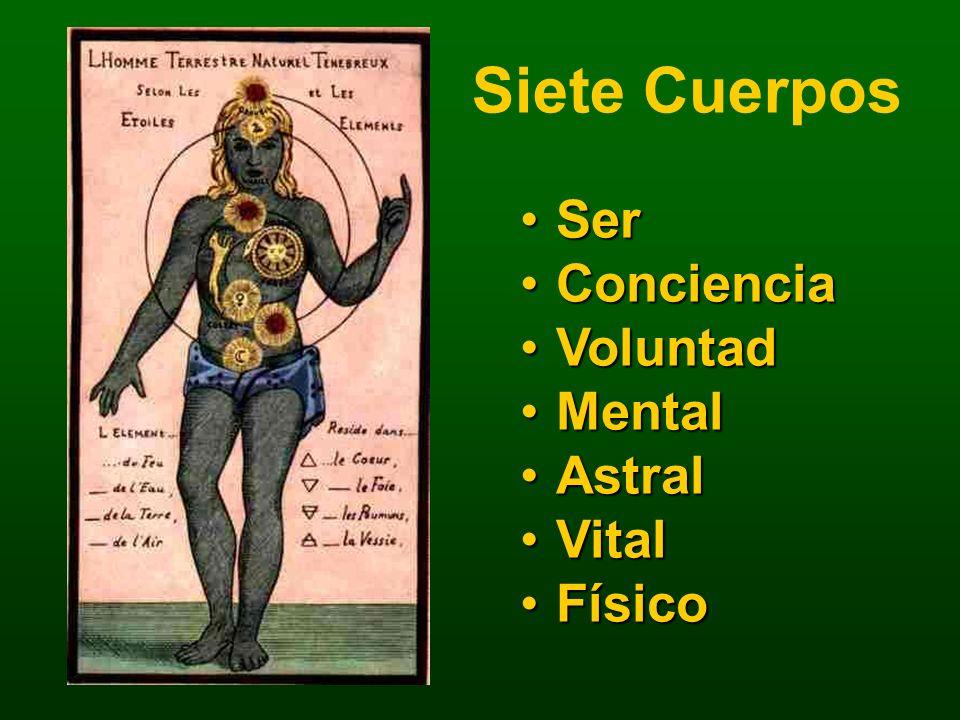 Siete Cuerpos Ser Conciencia Voluntad Mental Astral Vital Físico