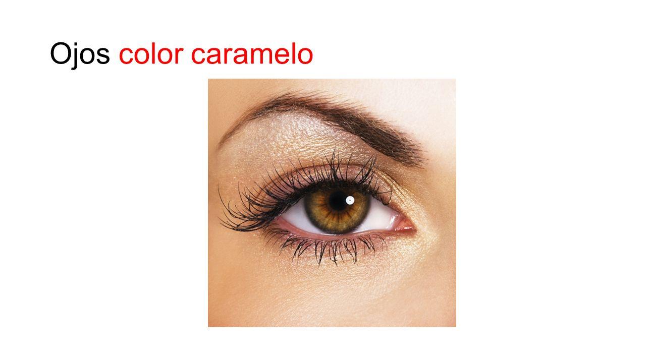 Ojos color caramelo