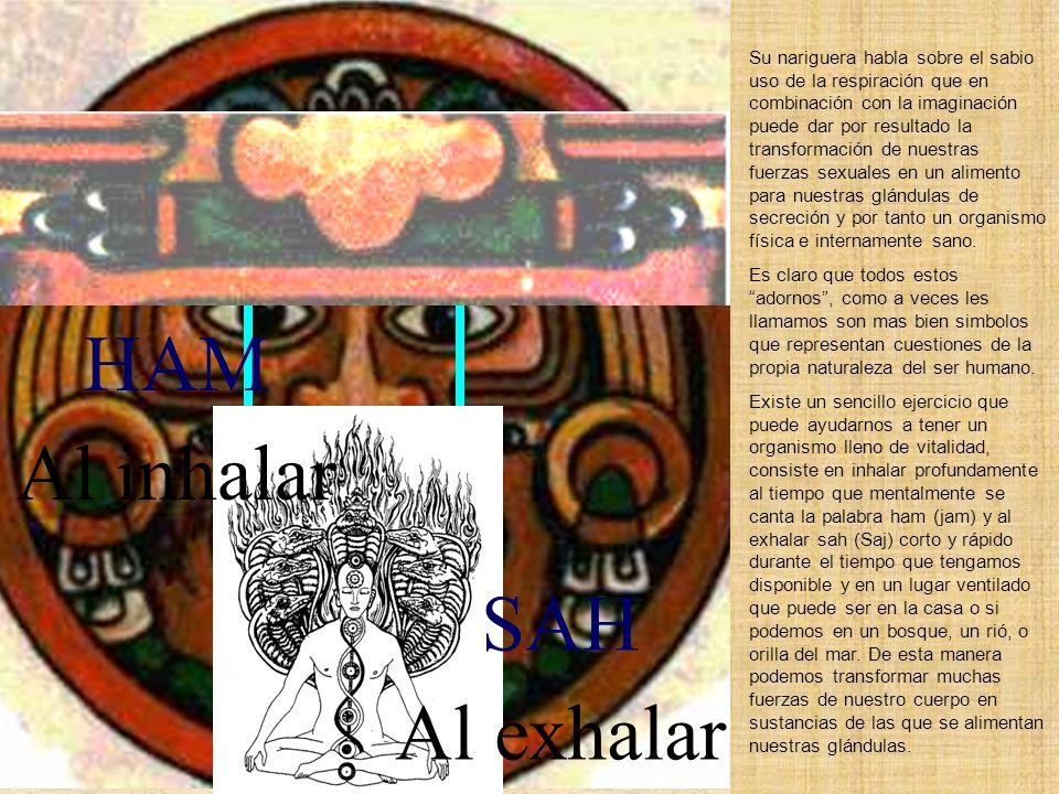 HAM Al inhalar SAH Al exhalar
