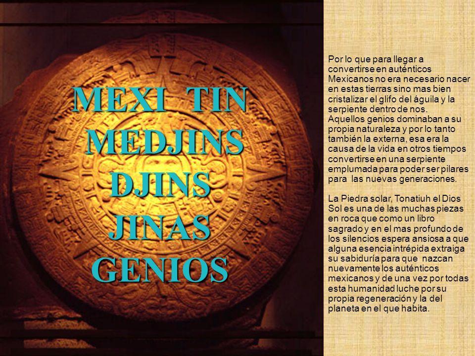 MEXI TIN MEDJINS DJINS JINAS GENIOS