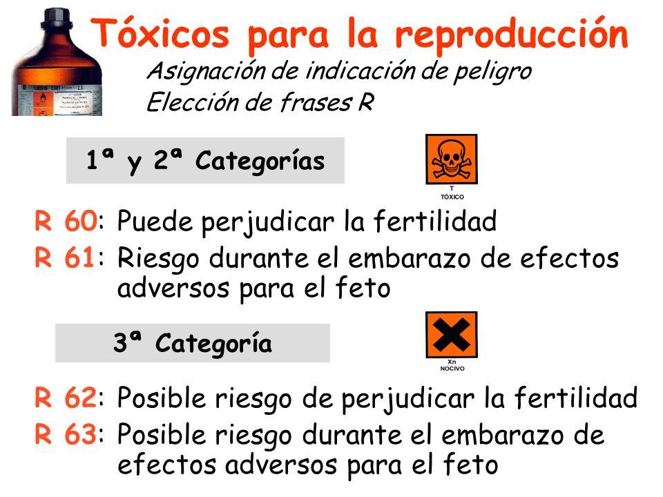 Tóxicos para la reproducción