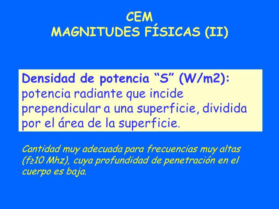 MAGNITUDES FÍSICAS (II)