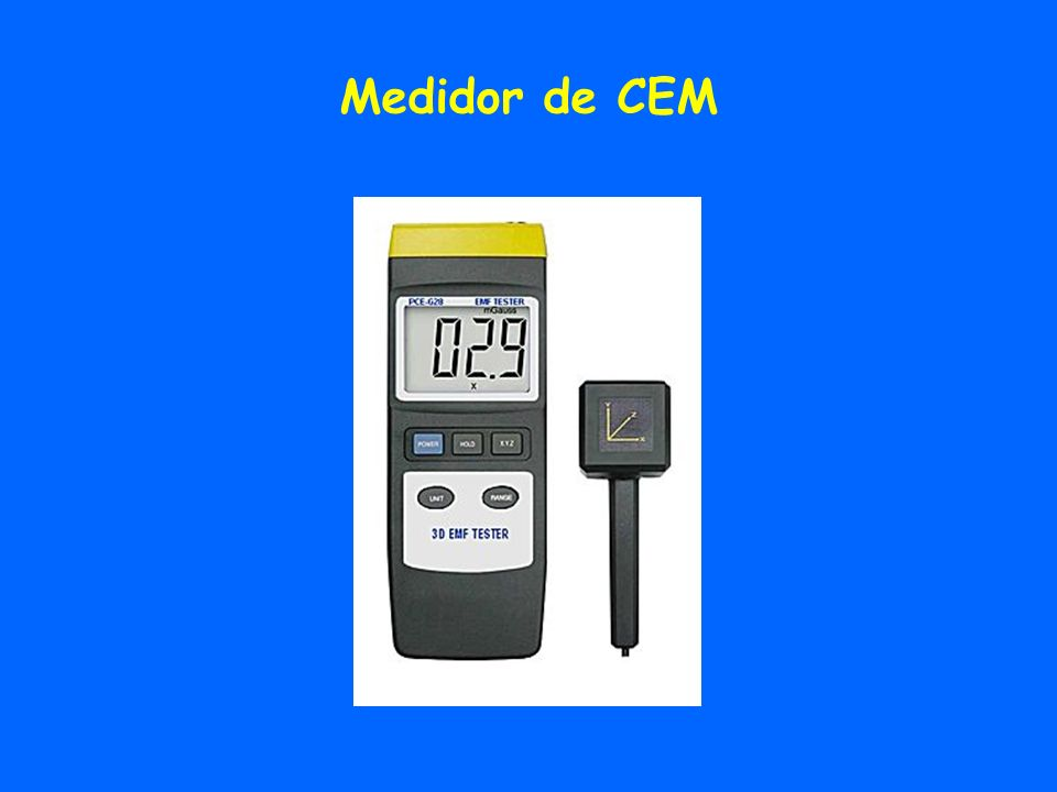 Medidor de CEM
