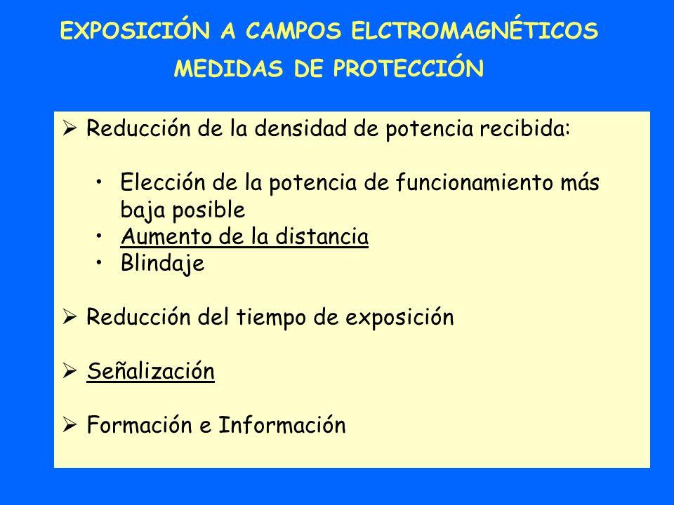 EXPOSICIÓN A CAMPOS ELCTROMAGNÉTICOS