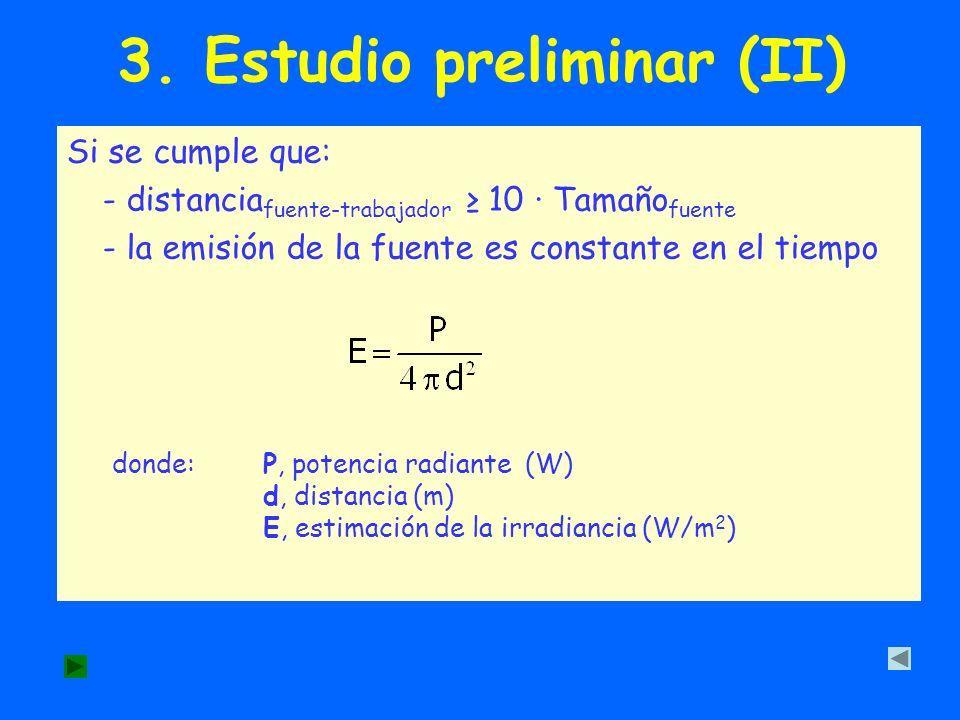 3. Estudio preliminar (II)