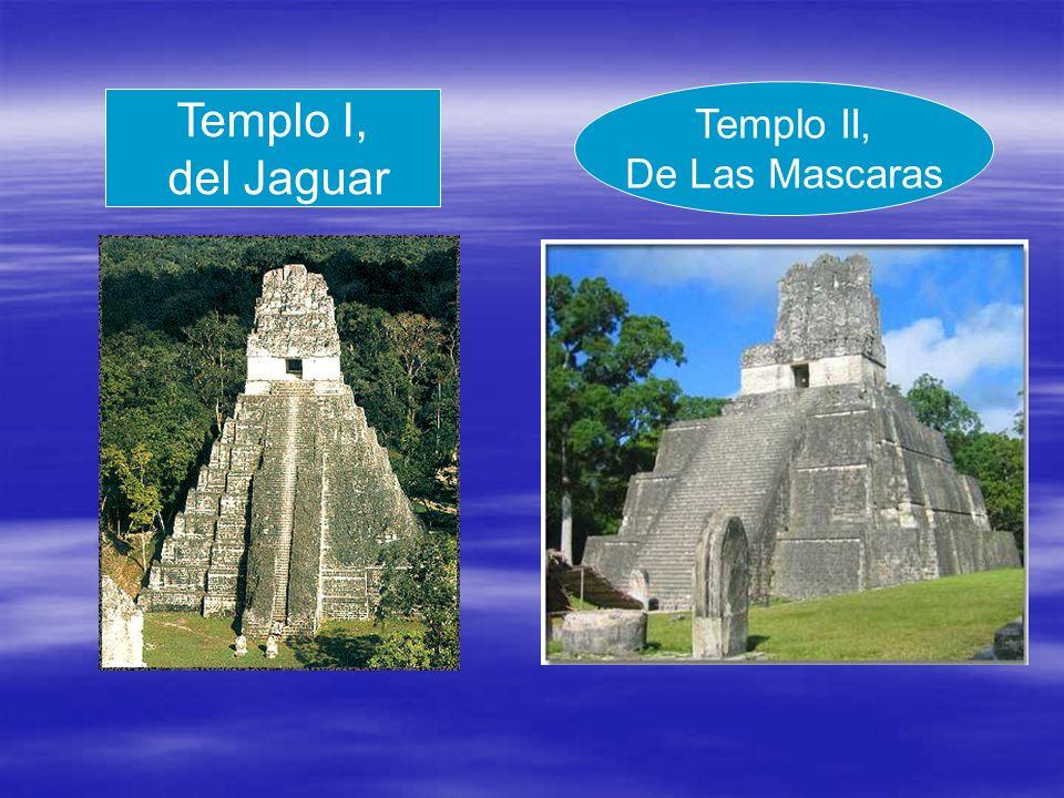 Templo II, De Las Mascaras Templo I, del Jaguar